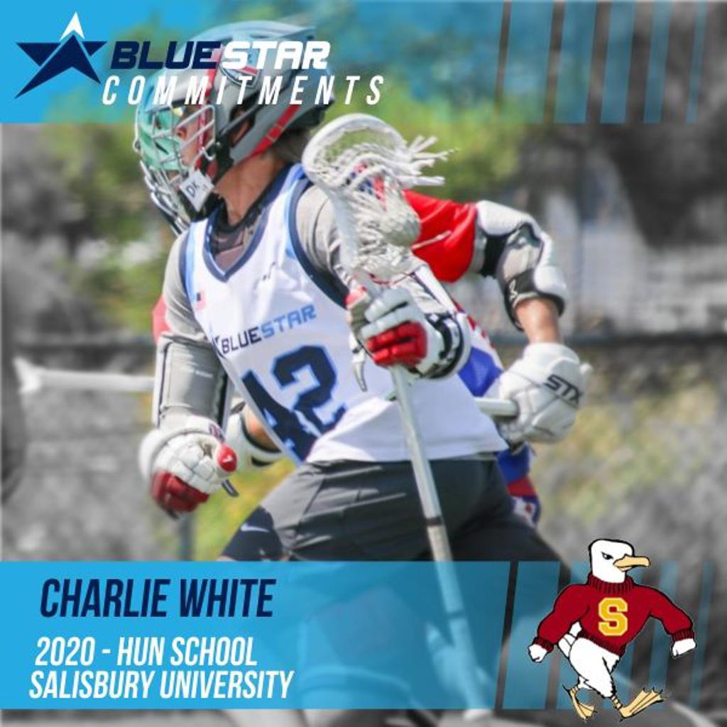 Charlie White Blue Star Lacrosse
