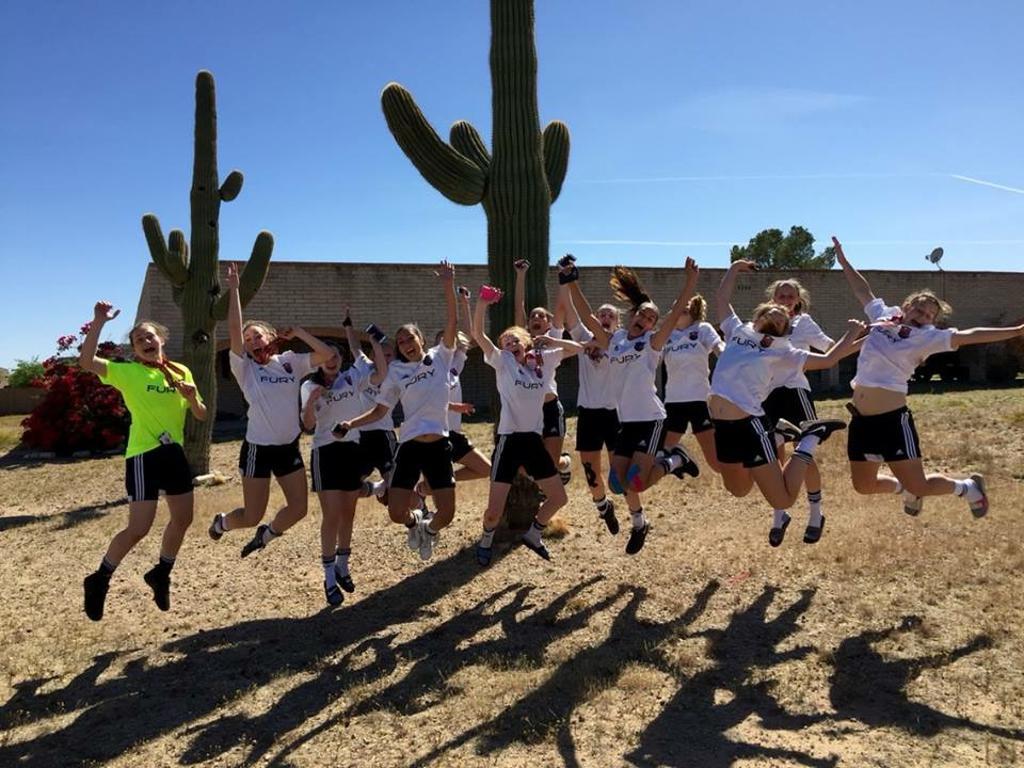 2016 Phoenix Desert Cup Showcase GU15 Diamond Champions!