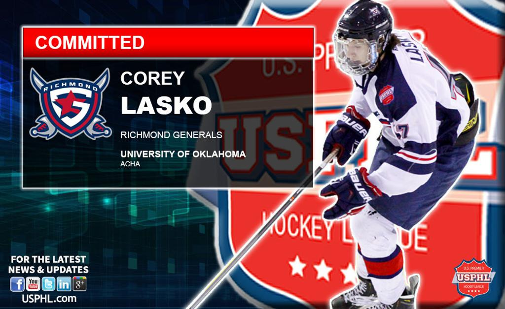 Richmond Generals  Corey Lasko Commits to Oklahoma University b5f41d08be8