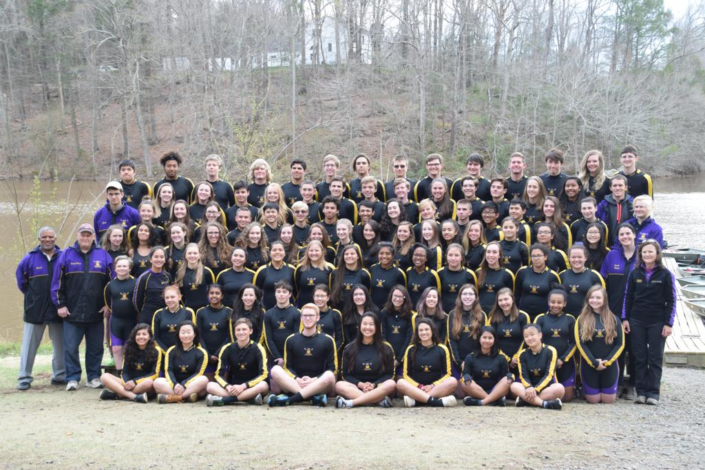 2017-18 Lake Braddock Crew Team Photo
