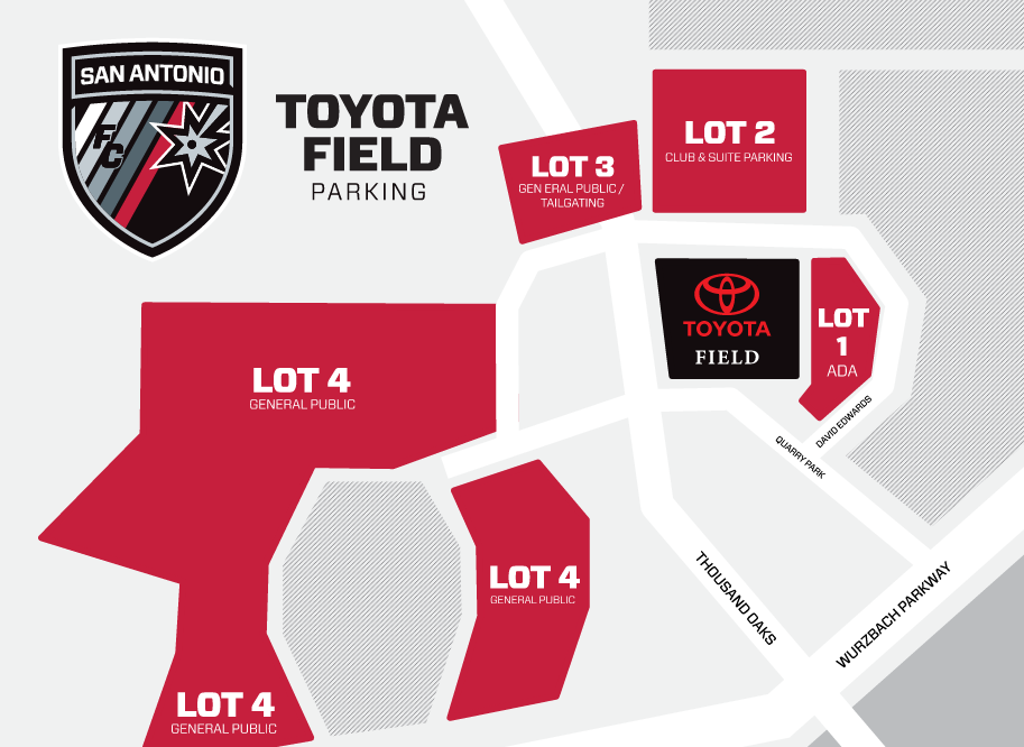 Toyota Field Parking