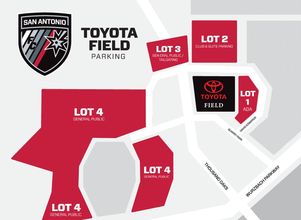 Toyota Field Parking
