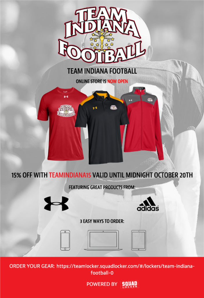 Get Your Gear Today!  15% Discount Until Oct 20th!