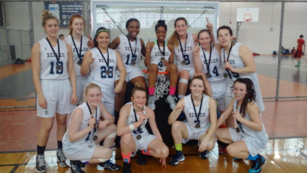Xelles win Gold at HoopDome Toronto tournament