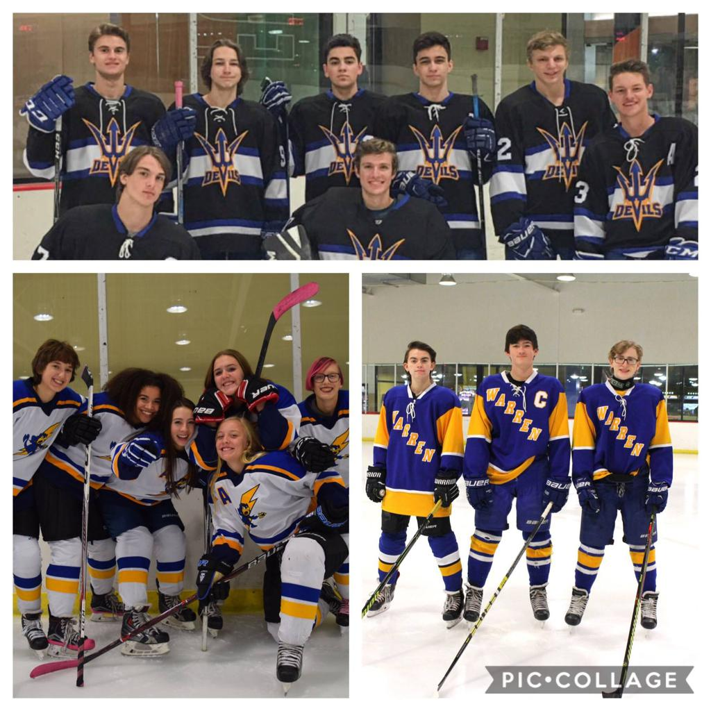 Congratulation on your graduation 2019 Warren Hockey Seniors