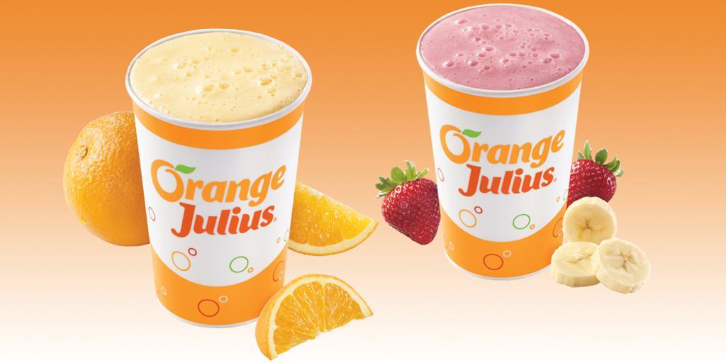 Thank you to our sponsor Orange Julius!
