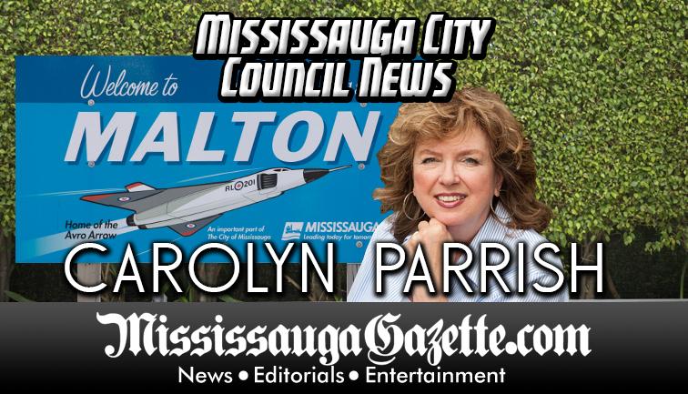 Carolyne Parrish - Mississauga City Council - Ward 5 - Mississauga News and Mississauga Gazette - Mayor Bonnie Crombie