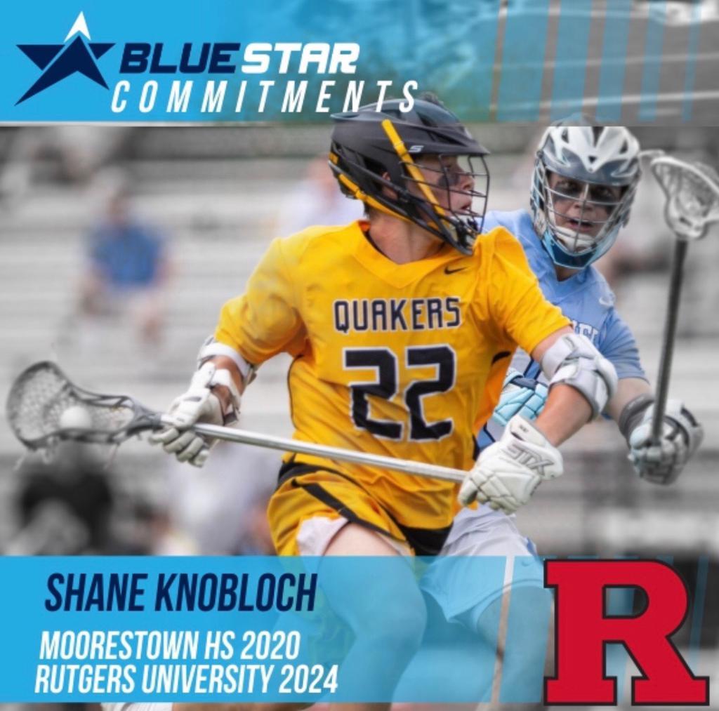 Shane Knobloch Moorestown Lacrosse Rutgers Lacrosse Blue Star Lacrosse