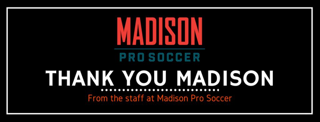 Thank you Madison