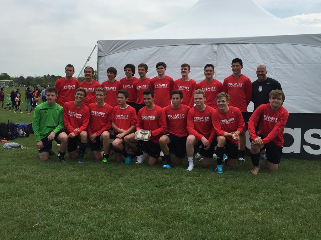 Congratulations U18 Premier SC - Elite on Winning the 2016 Hawks Cup
