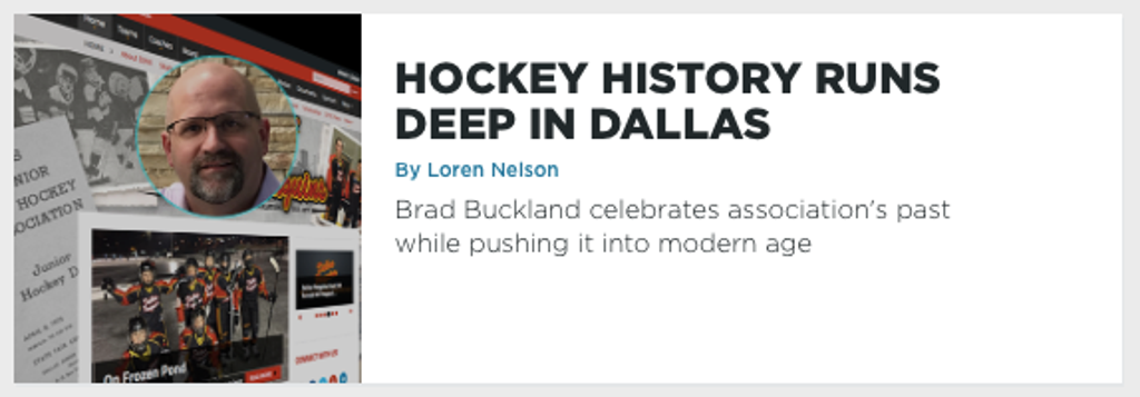 Hockey History Runs Deep In Dallas