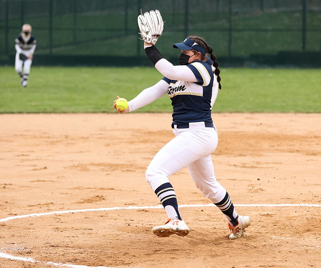 Chanhassen's Sydney Schwartz pitched eight scoreless innings and tallied 18 strikeouts in 1-0 over Northfield.  Schwartz allowed just four hits in the game.  Photo by Cheryl A. Myers, SportsEngine