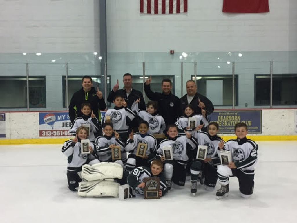 Trenton Hockey Association pinkeln wee aa