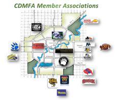Member Associations Map