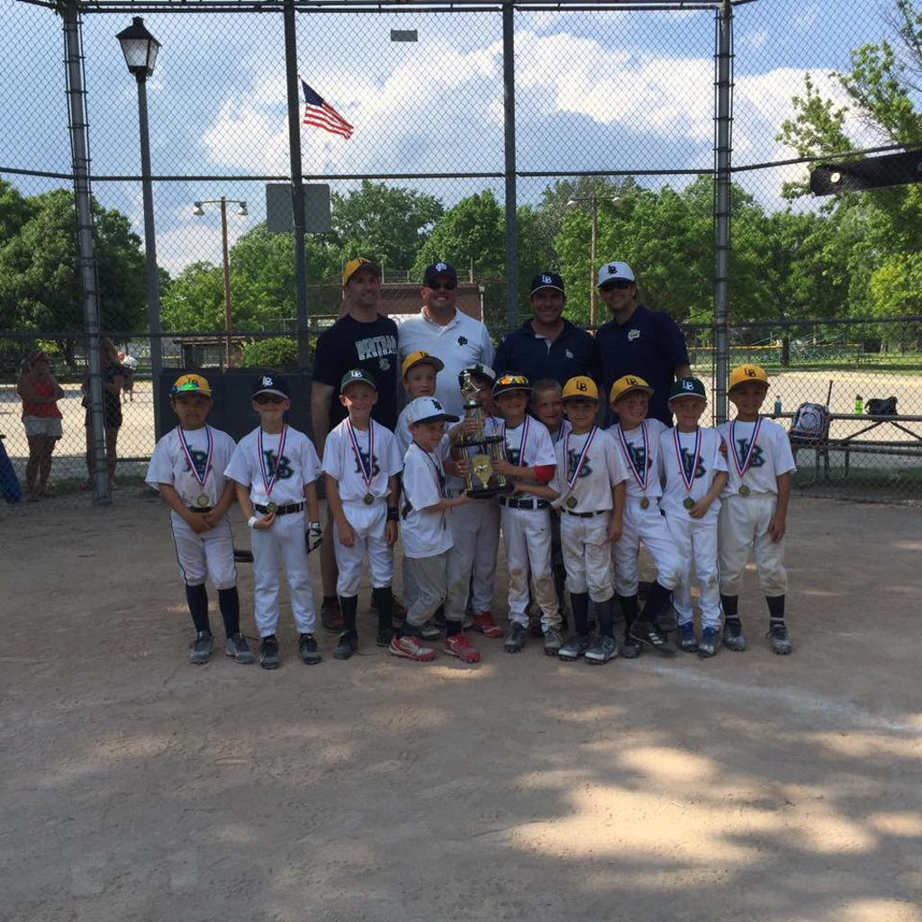 2016 Dirt Bag Invitational Champions - LBC 7U Blue