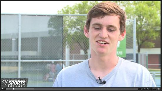 Interview with Brookfield East Tennis Ace