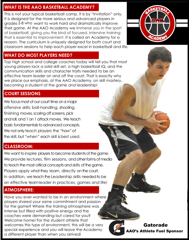 AAO Basketball Academy