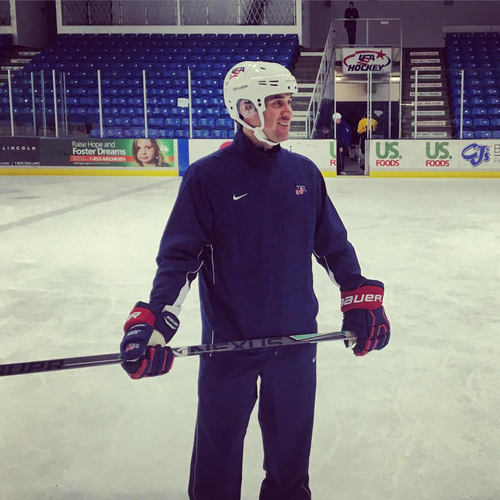 Cazares Attends Warren Strelow Goaltending Camp