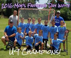2016 U9 Father's Day Invitational Champions