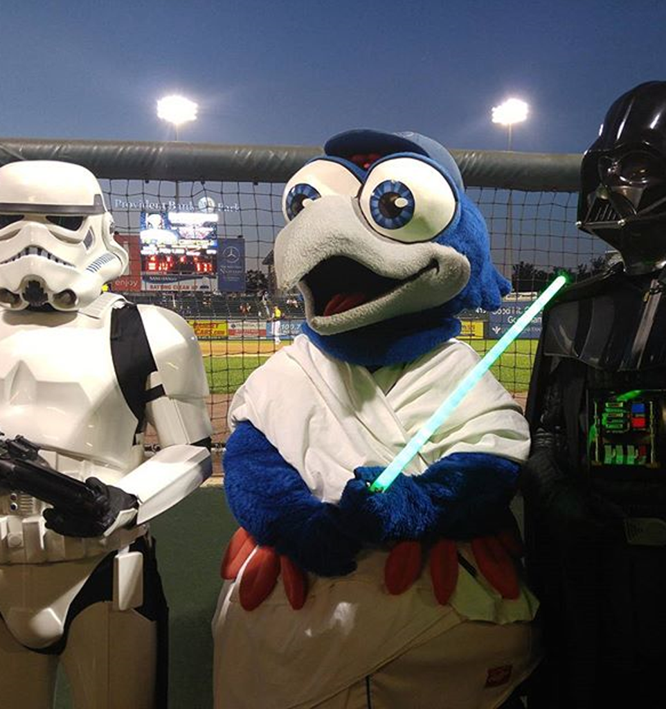 Help support the Maria Fareri Children's Hospital of Westchester, NY with the Rockland Boulders Star Wars Night. Meet Darth Vader, Storm Troopers plus some Bounty Hunters!