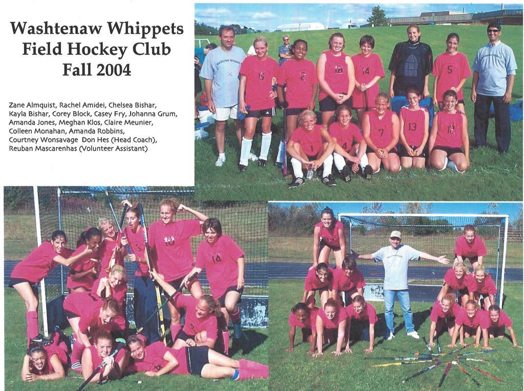 Washtenaw Whippets first team - 2004