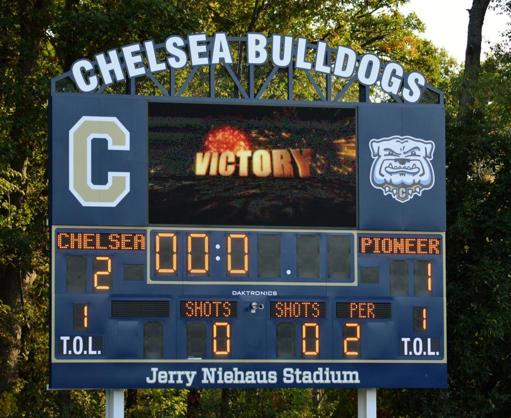 Chelsea scoreboard