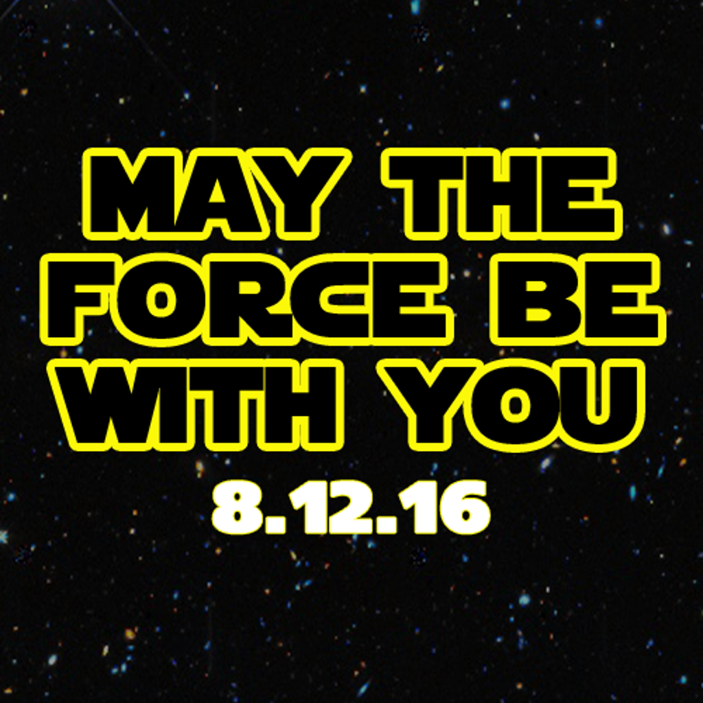 May the Force Be With Your during the Boulders Star Wars Night at Palisades Credit Union Park in Pomona, NY.