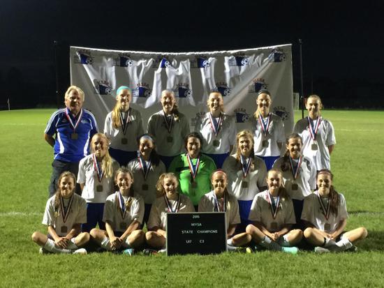 2016 U17 State Champs