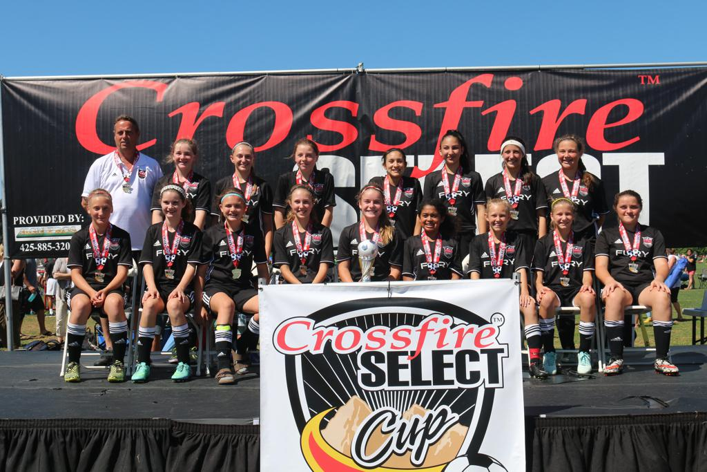 Crossfire Select Gold Champions
