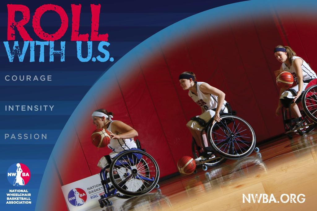 Nwba posters photos national wheelchair basketball association for Poster photos