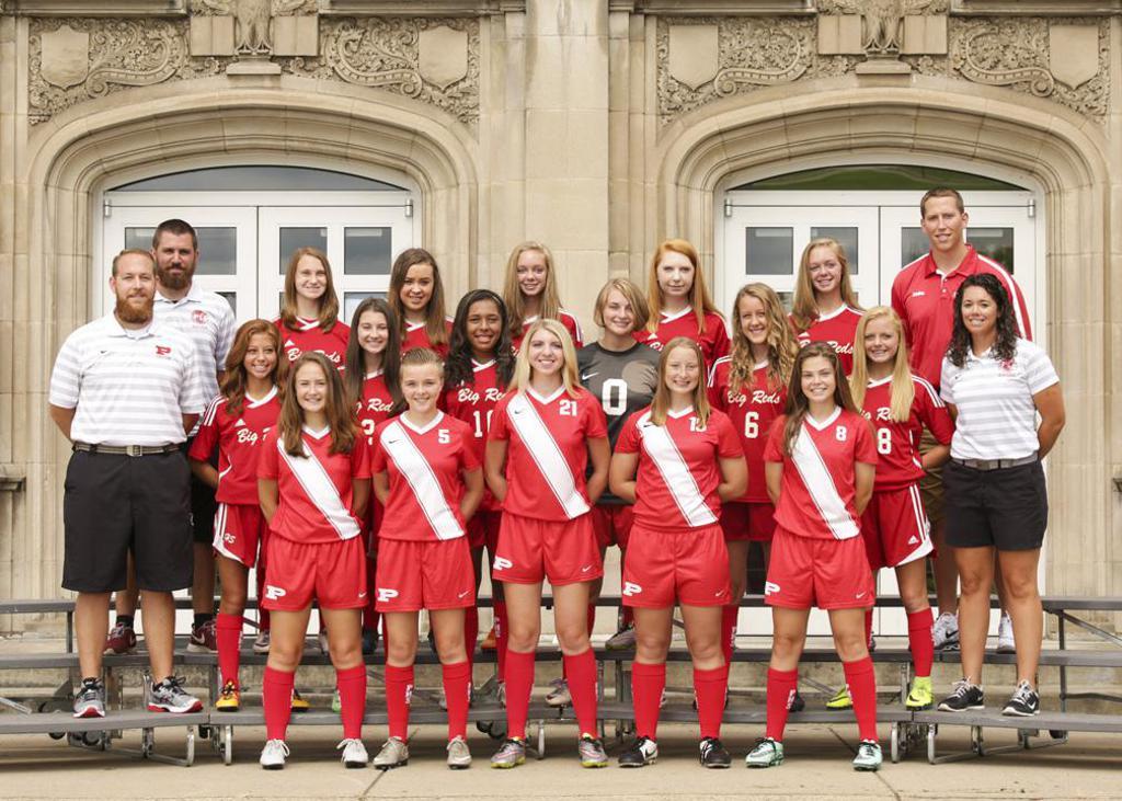 PHS 2016 JV Girls Team