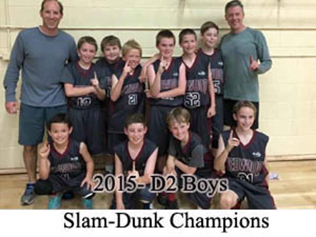 2015 D2 Slam Dunk Champions
