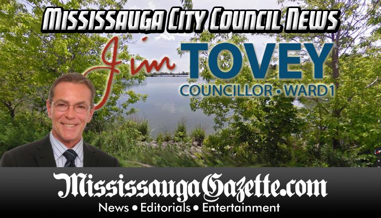 Jim Tovey - Mississauga City Council - Ward 1 - Mississauga News and Mississauga Gazette - Mayor Bonnie Crombie