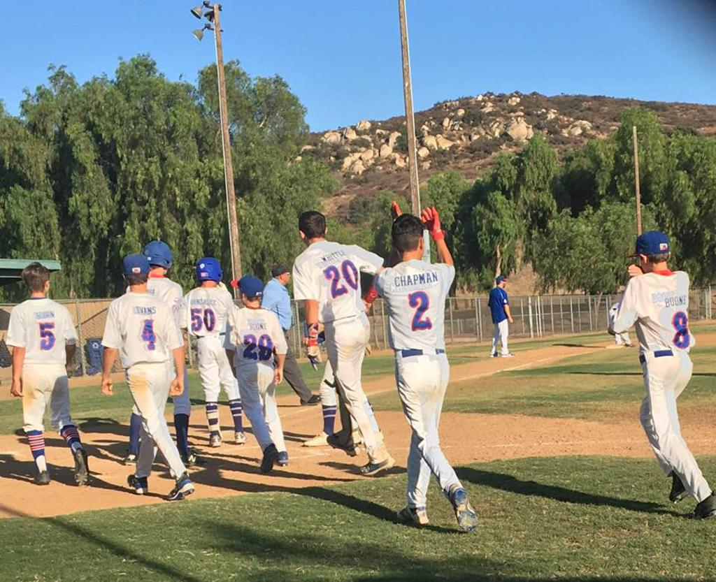 14u Bears celebrating another HR
