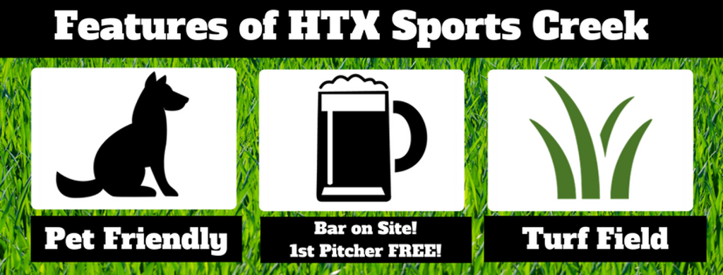 HTX Sports Creek Kickball