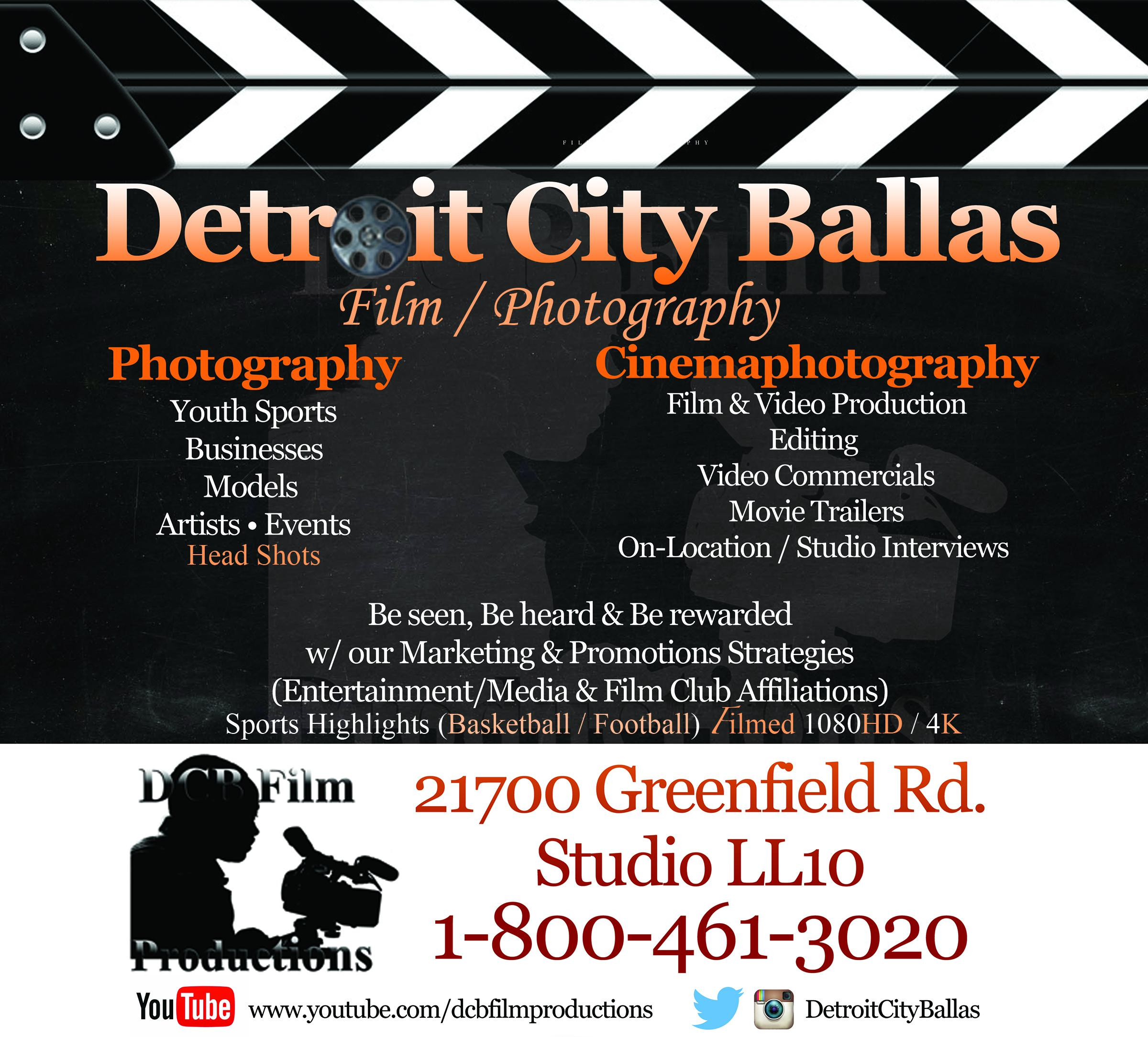 Detroit City Ballas Film/Photography Capture,Film & Edit all Sports Highlights