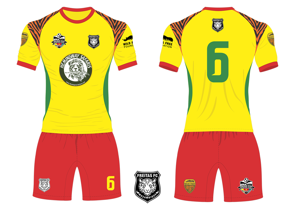 Freitas FC Tigers Soccer Team Kit RCCL 2019