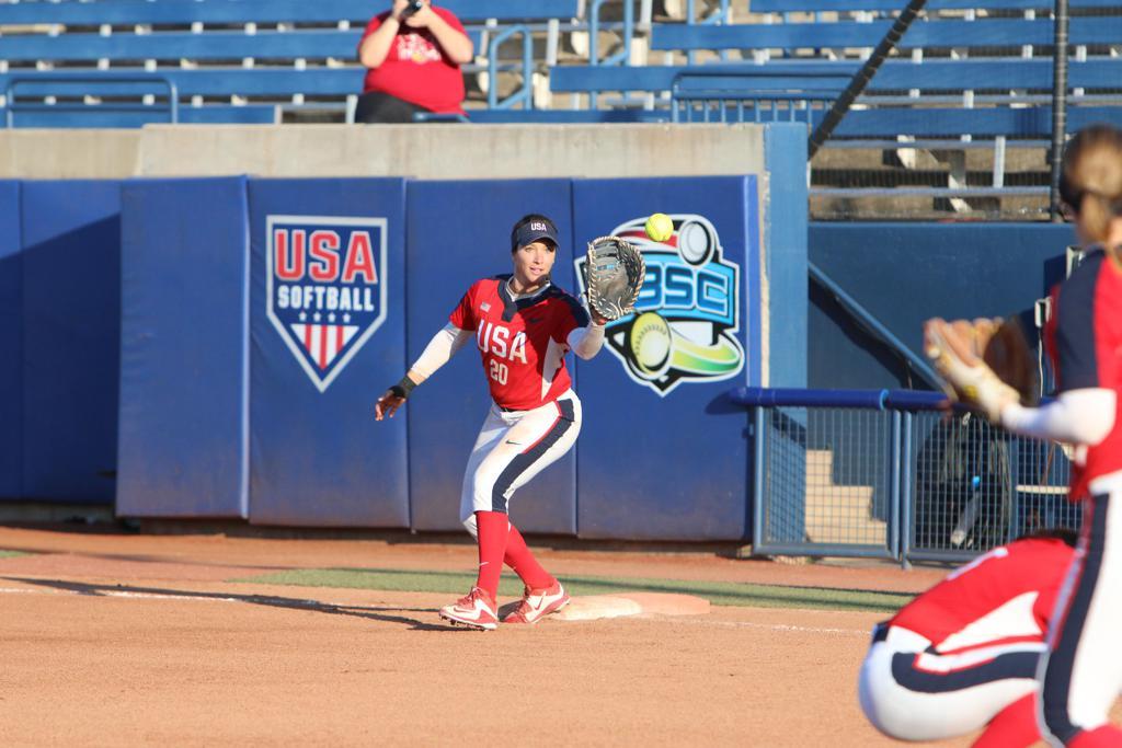 USA Softball Stars Highlight The Importance of Playing