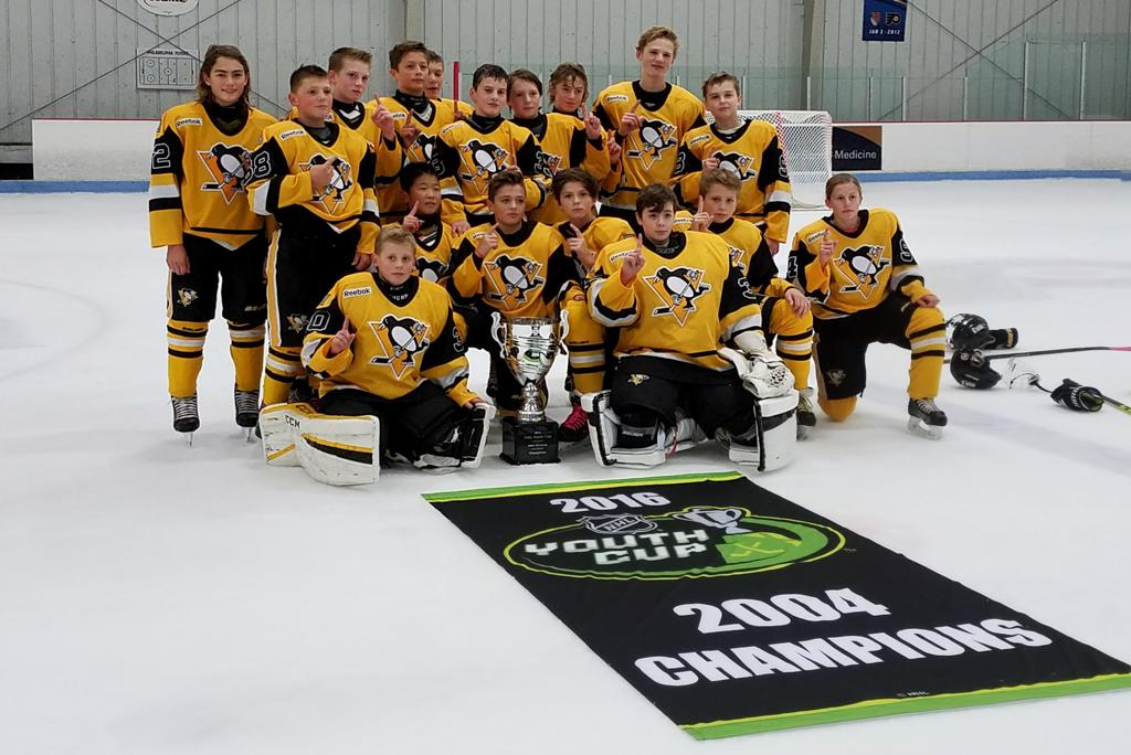 Congratulations to the '04 Pens Elite for bringing the NHL Youth Cup back  to Pittsburgh.
