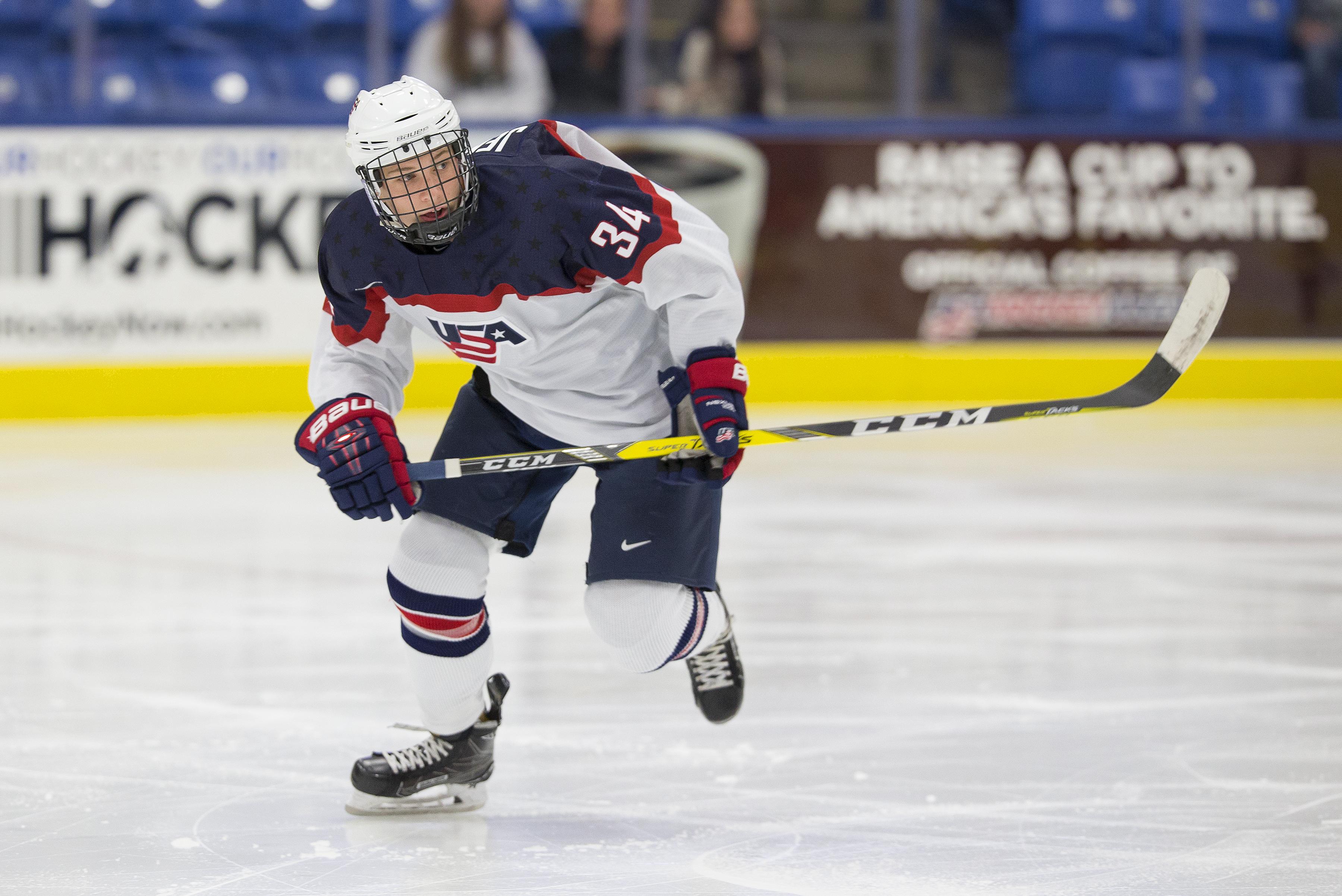 Blade Jenkins USA Hockey National Team Development Program