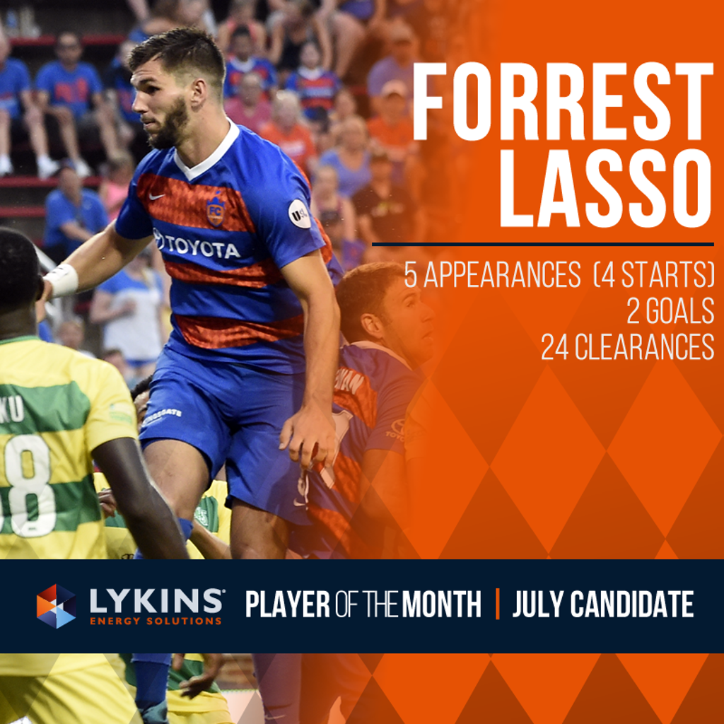 Forrest Lasso | July Candidate
