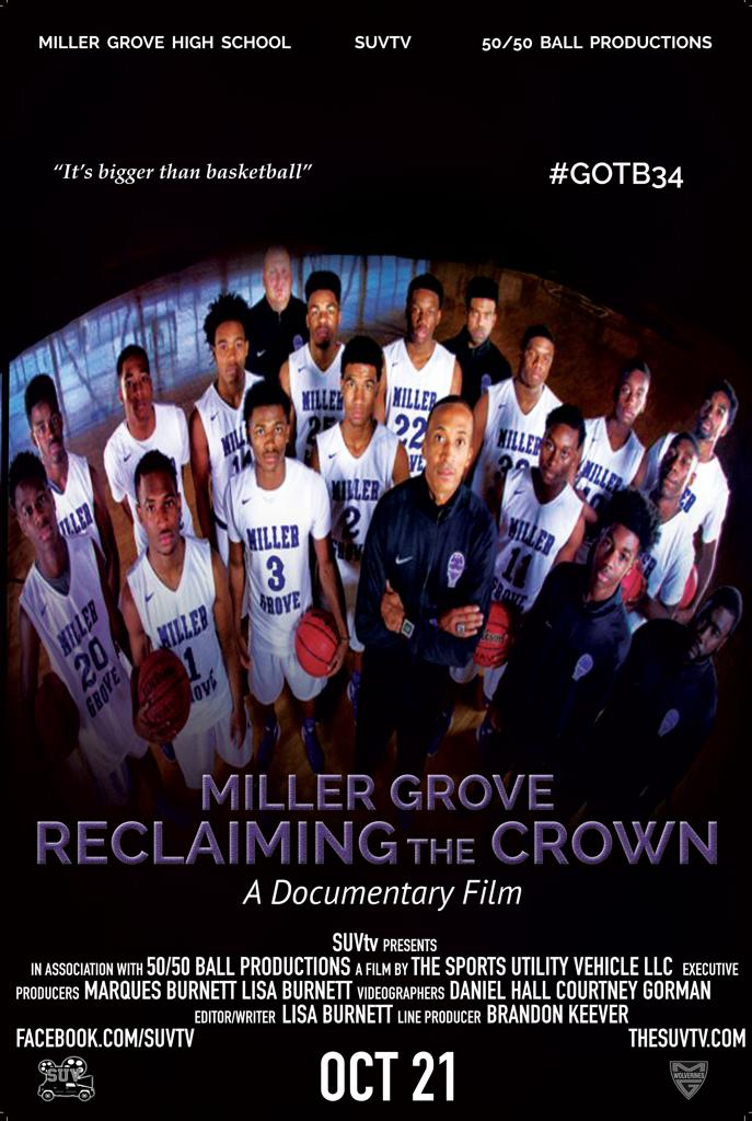 Miller Grove Reclaiming the Crown Documentary - Available Now