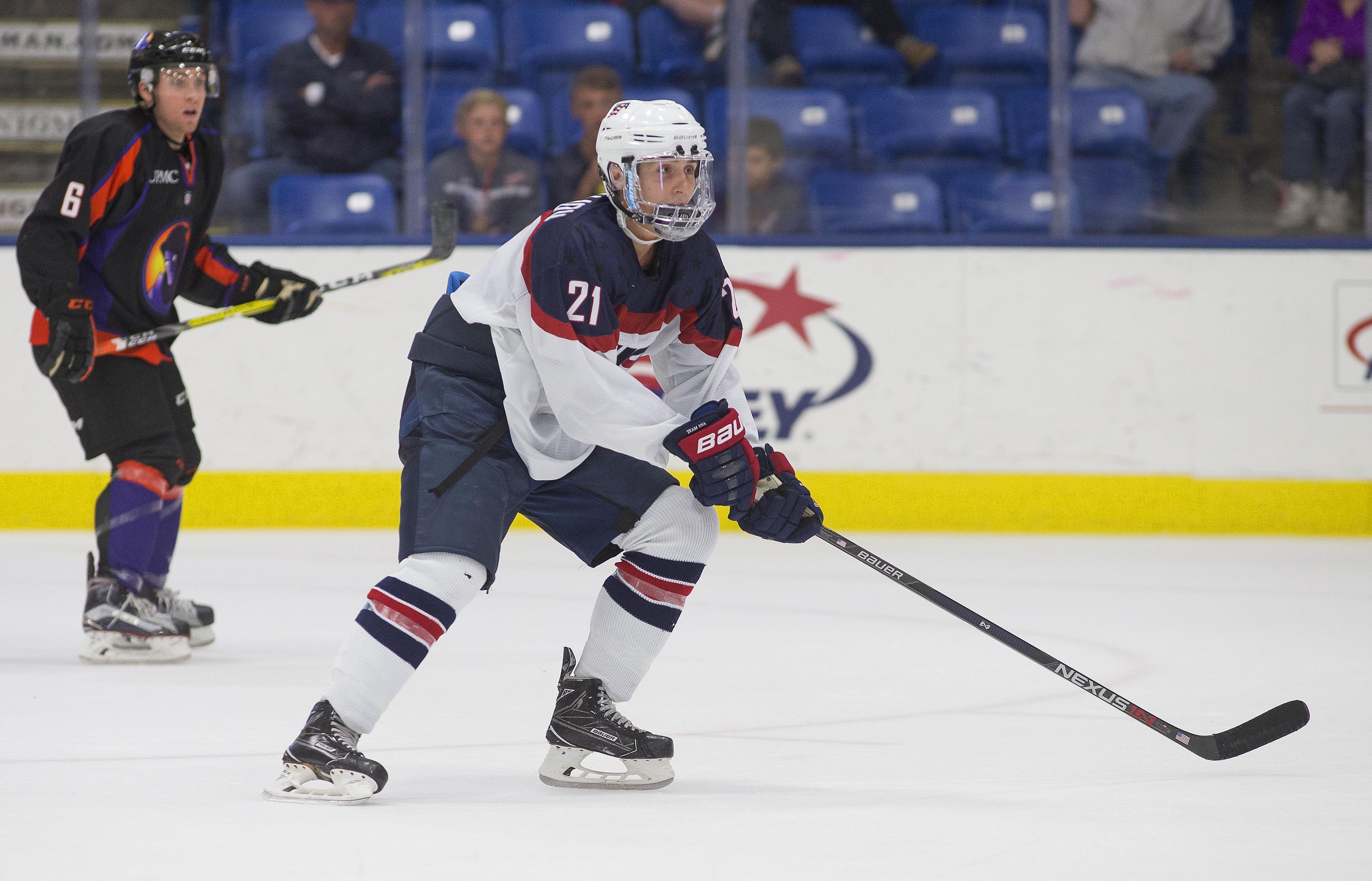 Michael Pastujov USA Hockey National Team Development Program