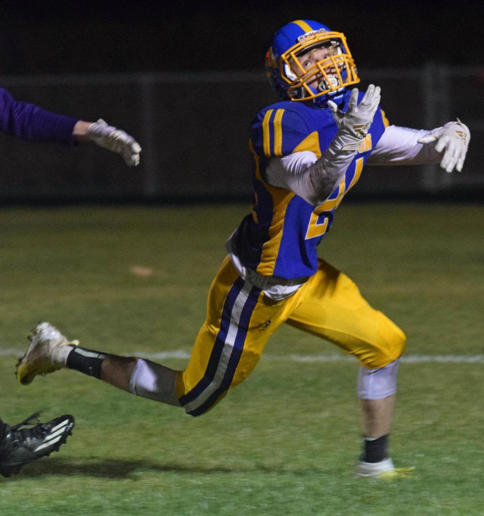 """Dawson Dearth Named """"Second Team South Central Conference Defensive Back."""""""