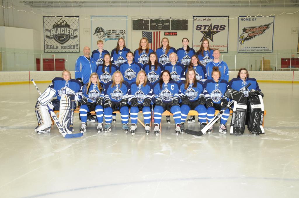 2016-2017 Glacier Hockey team