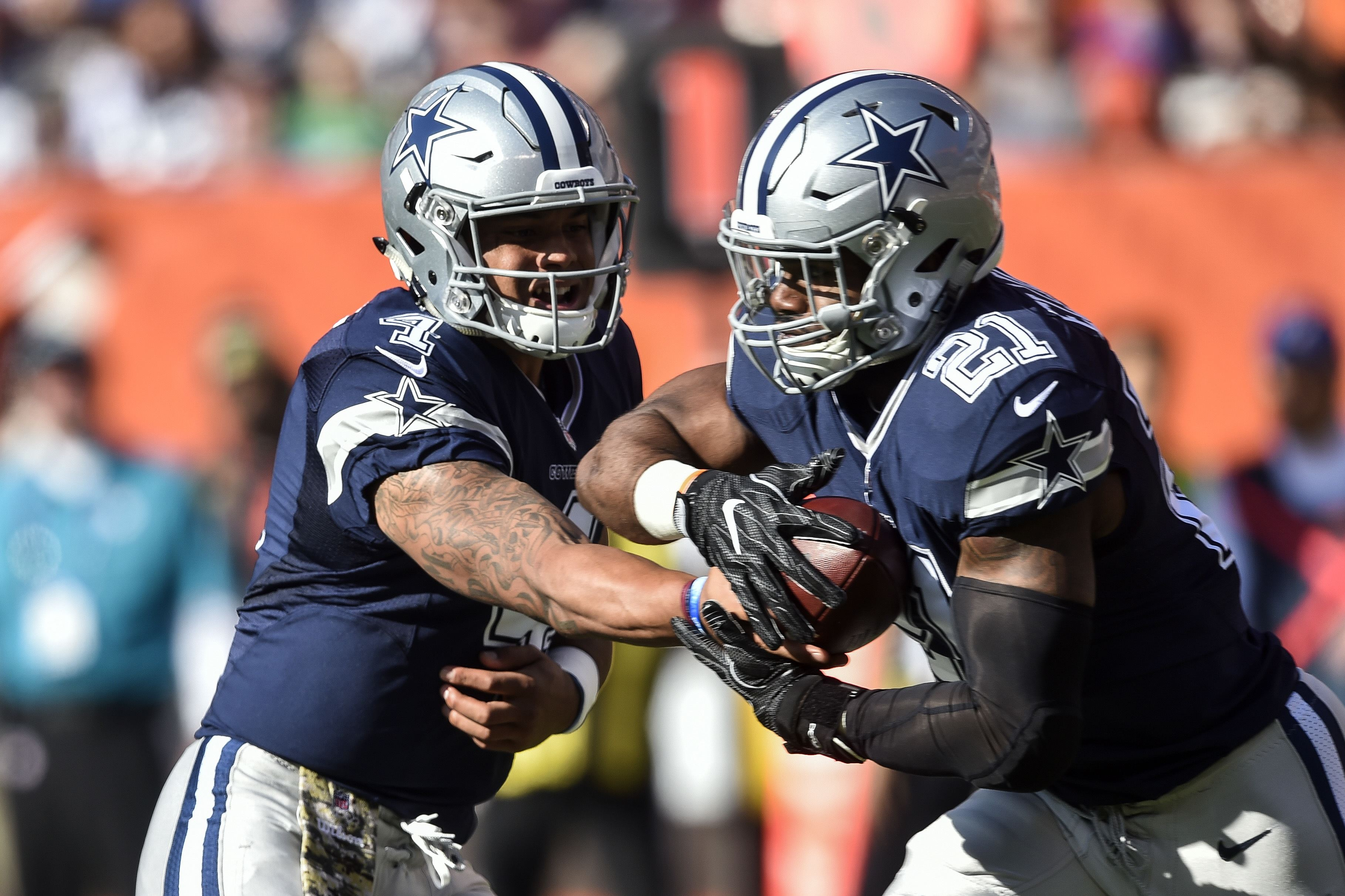 Prescott, Cowboys go to 7-1 with win over Browns