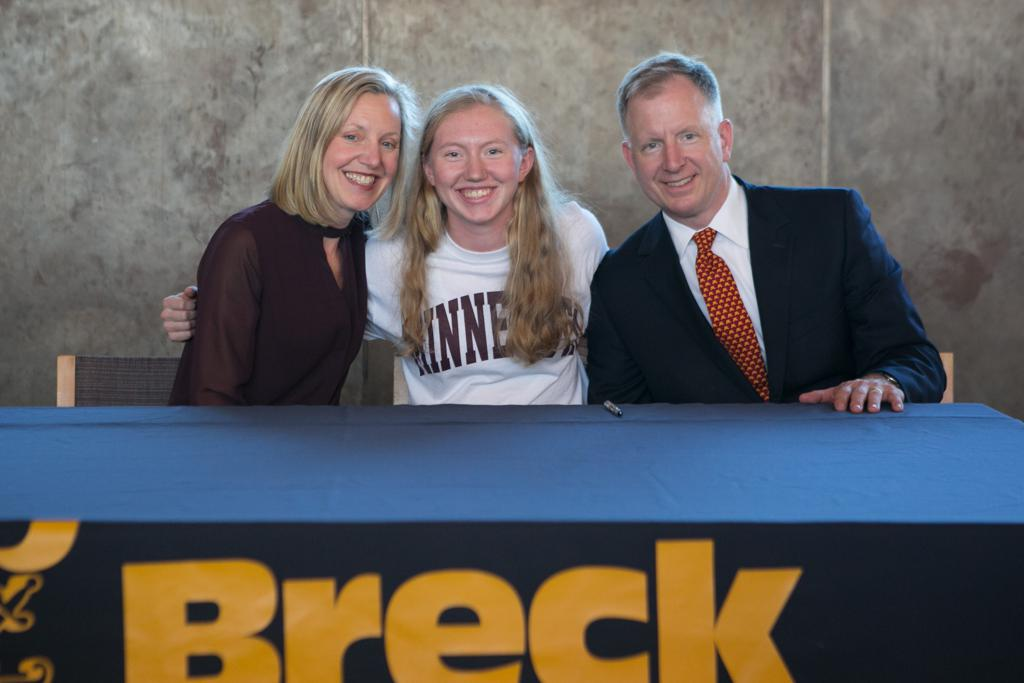 MN H.S.: Five Finalists Announced For 2017 Ms. Hockey Award - Breck's Future Gopher, Grace Zumwinkle, Is The Favorite