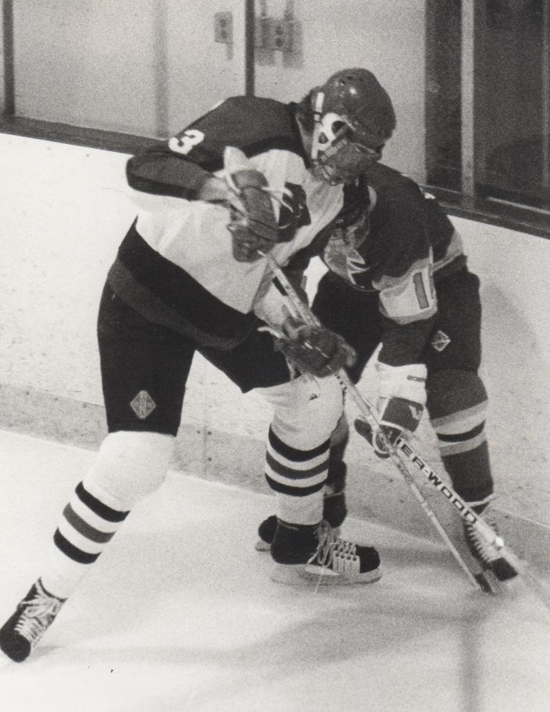 Nate Rasmussen ('89-'93) was a multi sport athlete and captain of the Lakeville Panthers Hockey Team