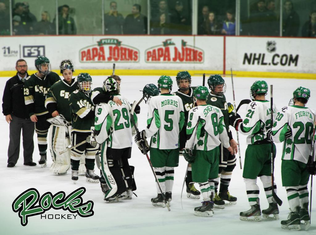 Respect. Congratulation to our rivals, neighbors and friends at Jerome on a great season! #dublinhockey
