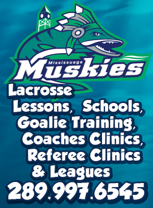 lacrosse in mississauga with Stan Cockerton of the Ontario Lacrosse Association and Wendy Bennett-Costante of Zone 10 Lacrosse in Ontario. Kevin J. Johnston and The Mississauga Muskies Lacrosse Association. Lacrosse in Canada with the Canadian Lacrosse As